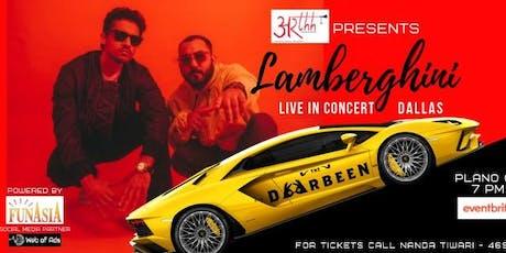 Lamberghini concert - The Doorbeen in Dallas tickets