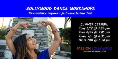 Bollywood Dance Workshops tickets