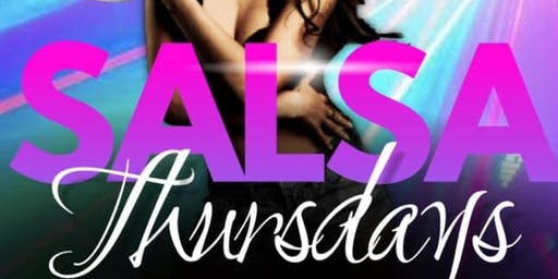 Salsa Night! (Free Lessons @ 8 PM)