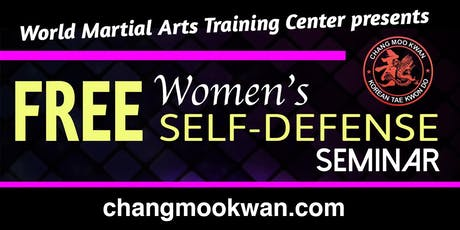 Free Women's Self Defense Seminar tickets