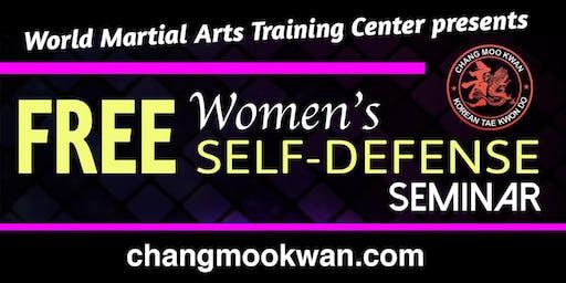 Free Women's Self Defense Seminar