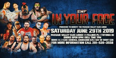 SWF Wrestling Live In Totowa NJ