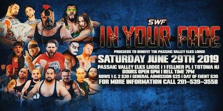 SWF Wrestling Live In Totowa NJ tickets