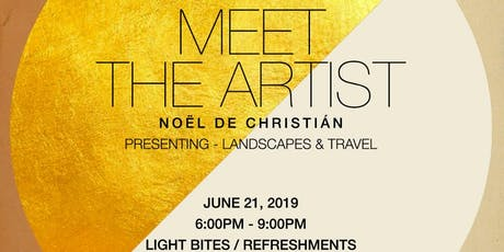 Choose954 Presents Meet The Artist Featuring Photographer Noël de Christián tickets
