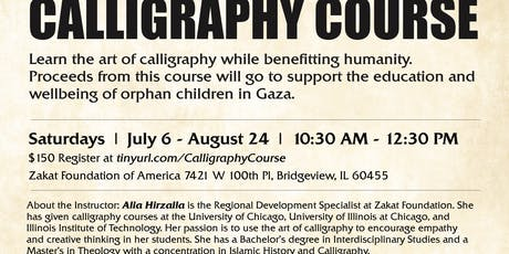 Calligraphy Course  tickets