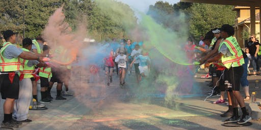 Sunset Color Run, Health Fair & Block Party
