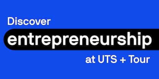 Discover entrepreneurship at UTS + Tour