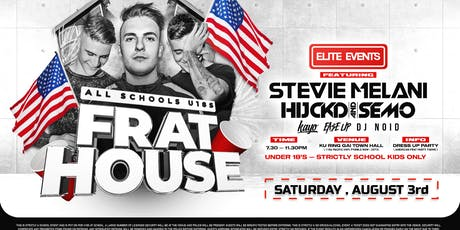 All Schools Dance : USA Frat House - SYDNEY tickets
