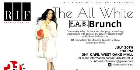 The All White Fashion N Beauty Brunch tickets