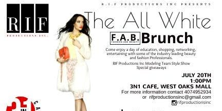 The All White Fashion N Beauty Brunch