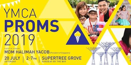 MUAS Volunteering @ YMCA PROMS 2019 tickets