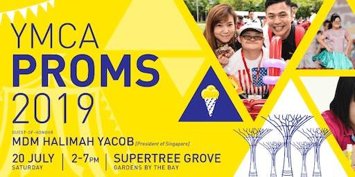 MUAS Volunteering @ YMCA PROMS 2019
