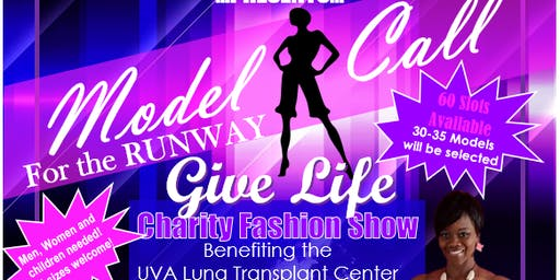 BreatheEz 2nd Annual RTR Charity Fashion Show Model Call