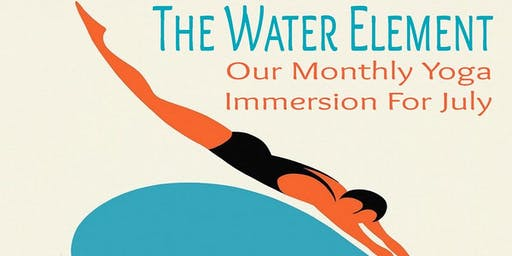 The Water Element July's Yoga Immersion at the Sol Center