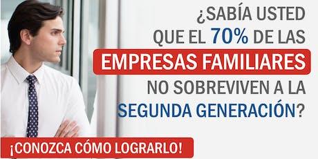 """Seminario """"5 Caminos p/ganancias masivas - Apalancando la Empresa Familiar"""" entradas"""