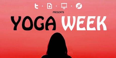 TDSC presents Yoga Week tickets