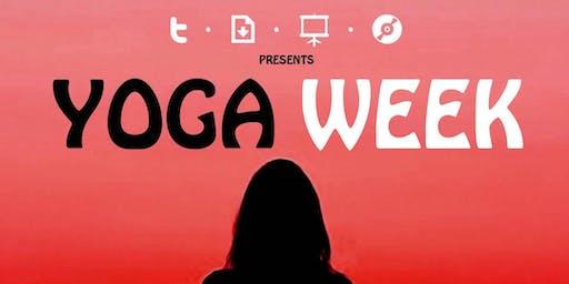 TDSC presents Yoga Week