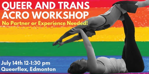 Queer and Trans Acro Workshop- Edmonton