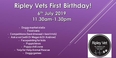 Ripley Vet Hospital's 1st Birthday tickets