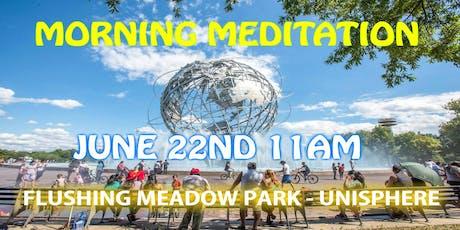 Morning Meditation & Vegan Lunch tickets
