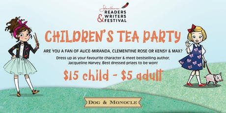 SRWF CHILDREN'S TEA PARTY tickets
