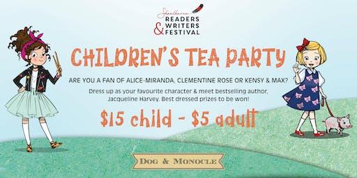 SRWF CHILDREN'S TEA PARTY