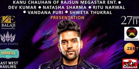 Official Live Guru Randhawa concert on 20th july in Ritz Theatre NJ tickets