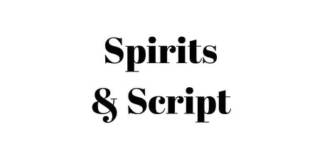 Spirits & Script tickets