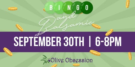Bingo & Balsamic tickets