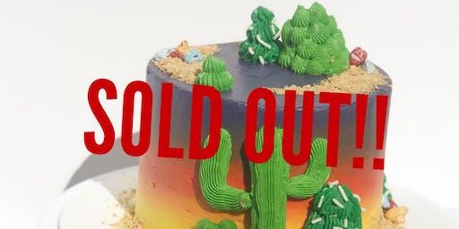 Desert Sunset Cake Nite!