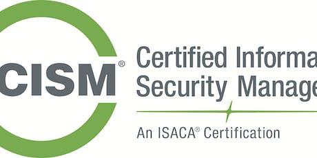 CISM Exam Review Course tickets