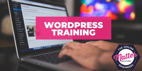 WordPress Training Brisbane - Tuesday 13th August 2019 tickets