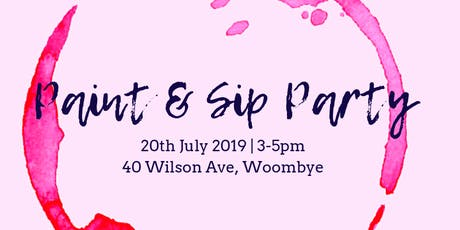 Paint & Sip Party tickets