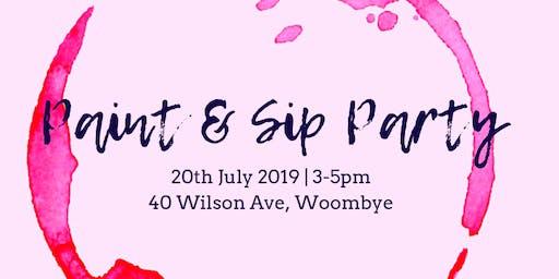 Paint & Sip Party