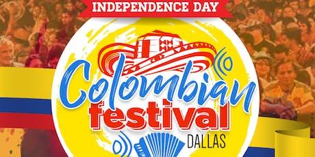 Dallas Colombian Festival 2019 tickets