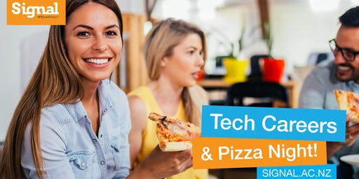 Tech Careers Pizza Night - Christchurch 25 June