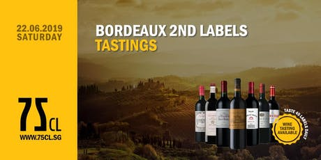 Bordeaux 2nd Labels Tastings tickets