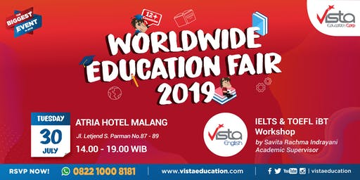 Worldwide Education Fair 2019 Malang - Atria Hotel