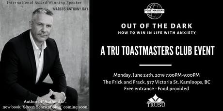 TRU Toastmasters Club Social with Marcus Anthony Ray tickets