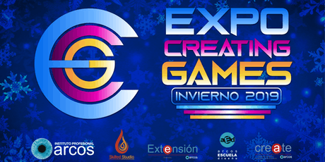 Expo Creating Games Invierno 2019 boletos