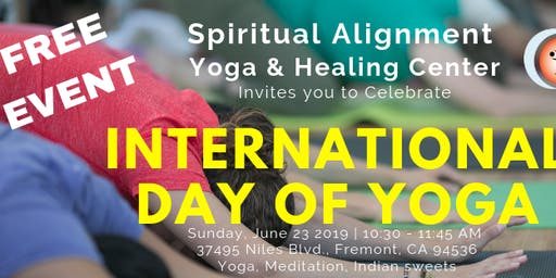 FREE Yoga Class: International Day of Yoga