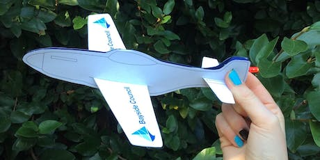 Sans Souci Library - School Holiday Activity - Light-up Plane tickets