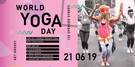World Yoga Day at WeWork Spencer Street! tickets