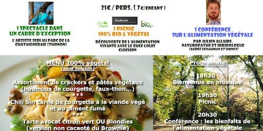 Soirée Picnic&Conférence 100% végétal ! (Thonon)