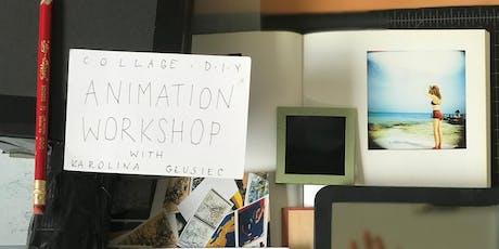 animation workshop tickets
