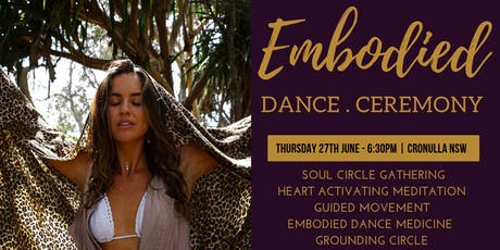 Embodied Dance Ceremony  tickets