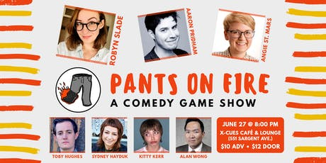 Pants on Fire #14 tickets