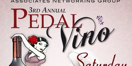 3rd Annual Pedal to Vino tickets