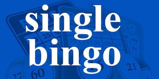 SINGLE BINGO THURSDAY NOVEMBER 28, 2019