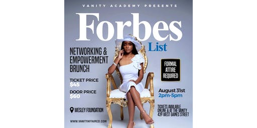 Forbes List Networking & Empowerment Brunch
